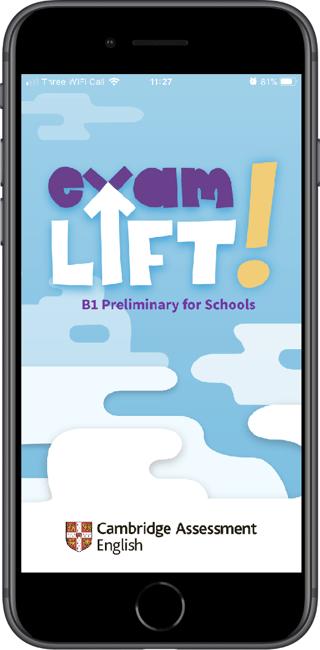 Exam Lift screen